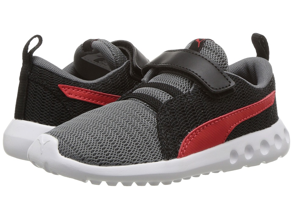 Puma Kids - Carson 2 V (Toddler) (Quiet Shade/Flame Scarlet) Boys Shoes
