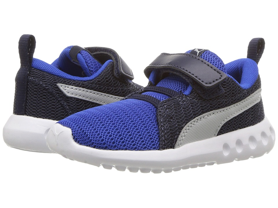 Puma Kids Carson 2 V (Toddler) (Turkish Sea/Grey Violet) Boys Shoes