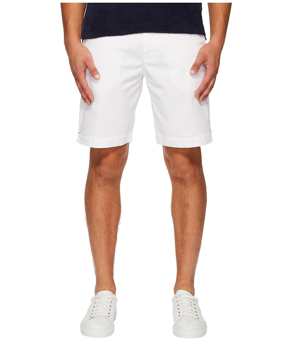 Orlebar Brown - Dane Cotton Twill Shorts (White) Mens Shorts