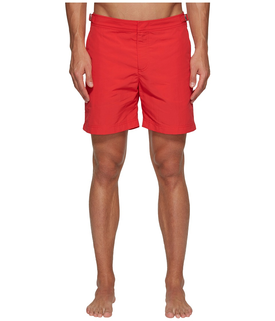 Orlebar Brown - Bulldog Swimsuit (Raspberry) Mens Swimwear