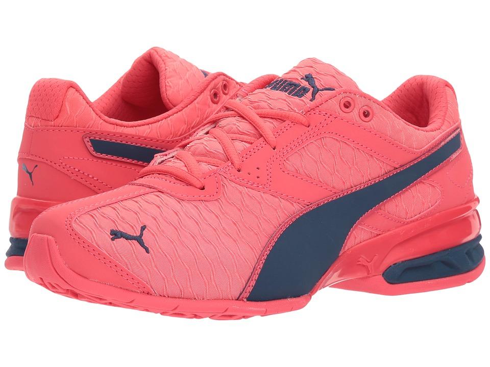 Puma Kids - Tazon 6 3D (Big Kid) (Paradise Pink/Sargasso Sea) Girls Shoes