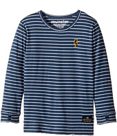 Munster Kids - Jaxson Jersey Long Sleeve Tee (Toddler/Little Kids)