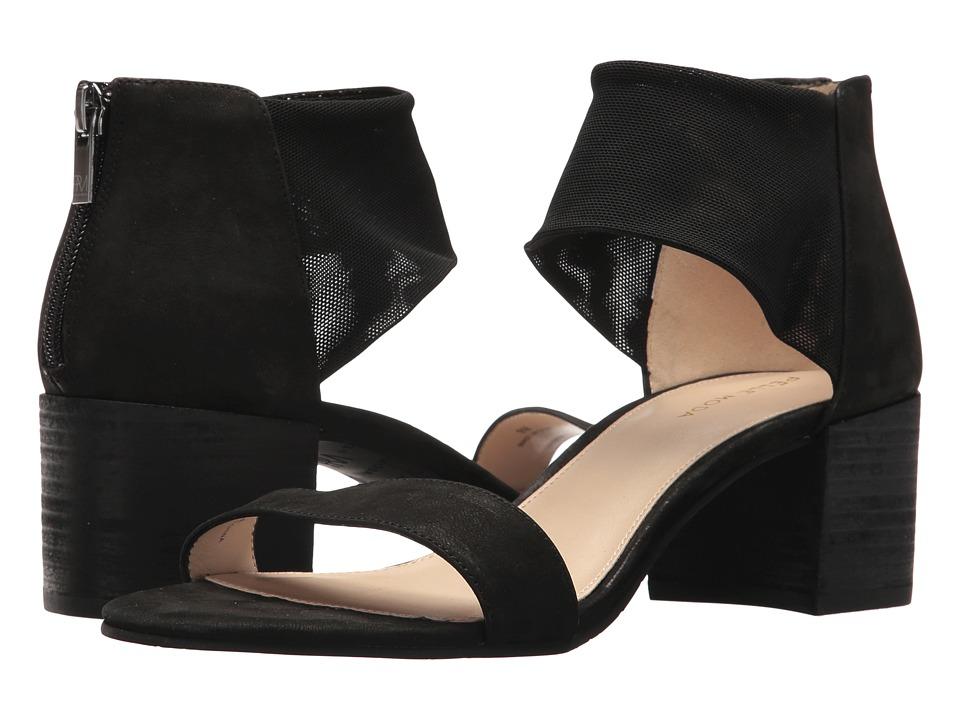 Pelle Moda - Alden (Black Tumbled Nubuck) Womens Shoes