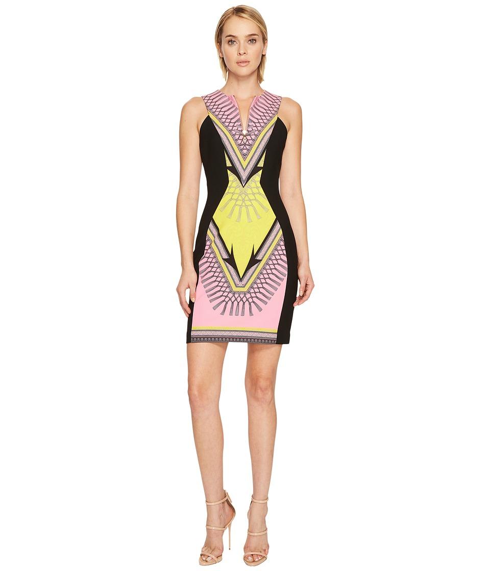 Versace Collection Stampa Sleeveless Dress (Pink) Women