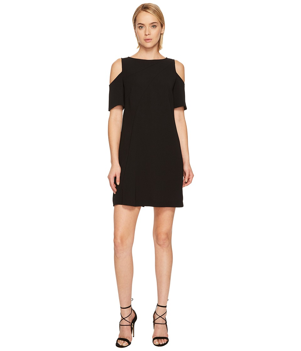 Versace Collection Cold Shoulder Dress (Black) Women
