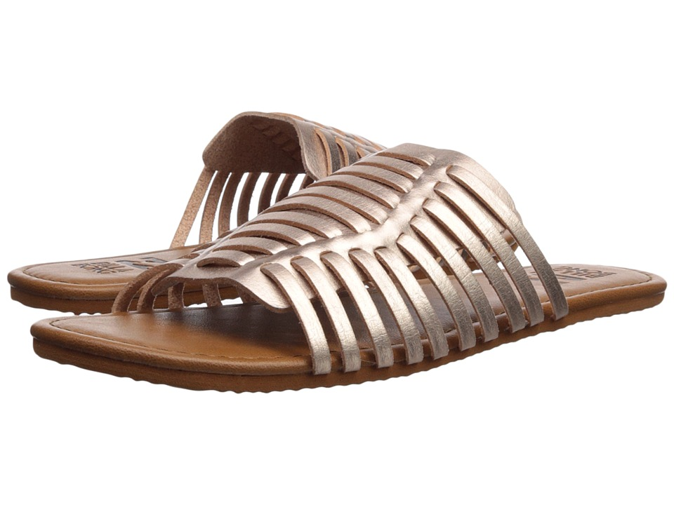 Billabong Tread Lightly (Rose Gold) Slides