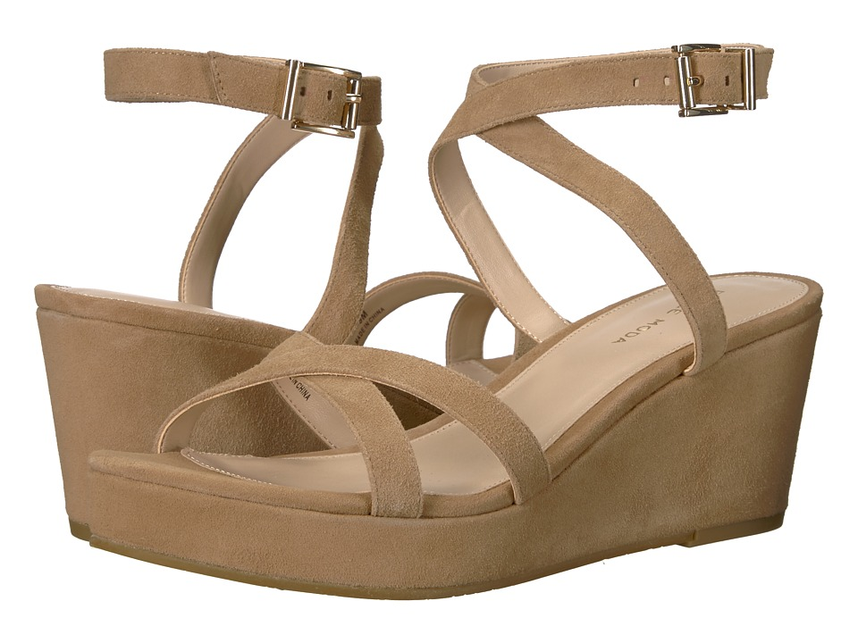 Pelle Moda - Keo 2 (Latte Suede) Womens Shoes