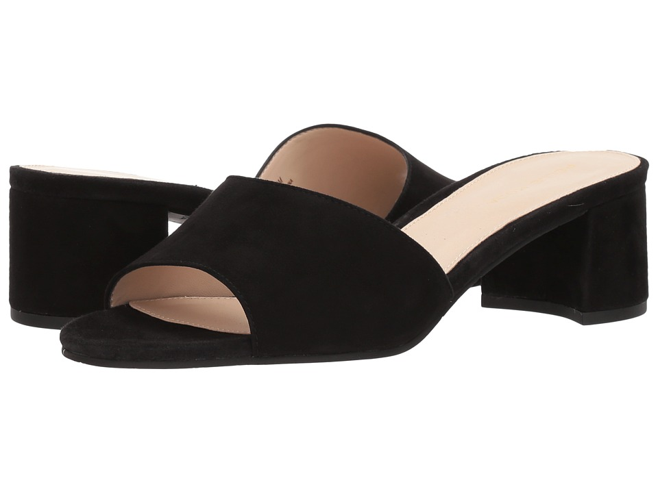 Pelle Moda - Rea (Black Suede) Womens Shoes