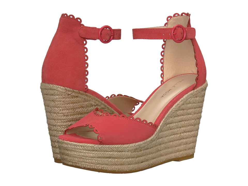 Pelle Moda - Raine (Flamingo Suede) Womens Shoes