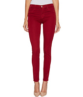 J Brand - 485 Mid-Rise Super Skinny in Vermillion