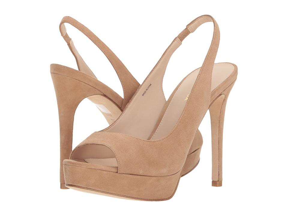 Pelle Moda Oana (Latte Suede) High Heels