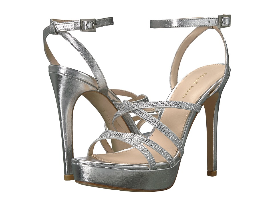 Pelle Moda - Oak (Silver Metallic Nappa) Womens Shoes