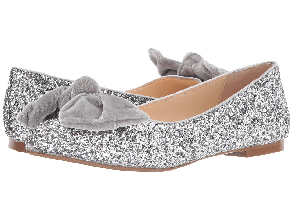 Blue by Betsey Johnson Amory (Silver Glitter) Women