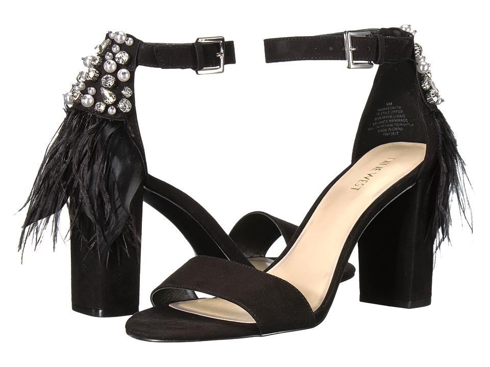 Nine West - Aaronita (Black Fabric) Womens Sandals