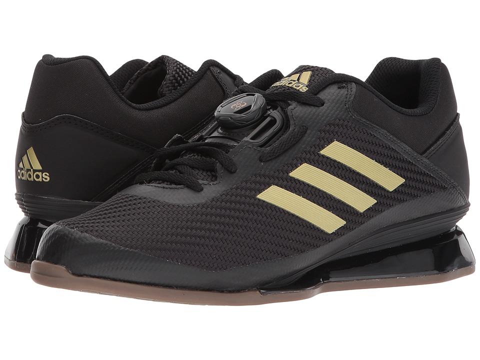 Adidas Leistung 16 II (Core Black/Matte Gold/Core Black) ...
