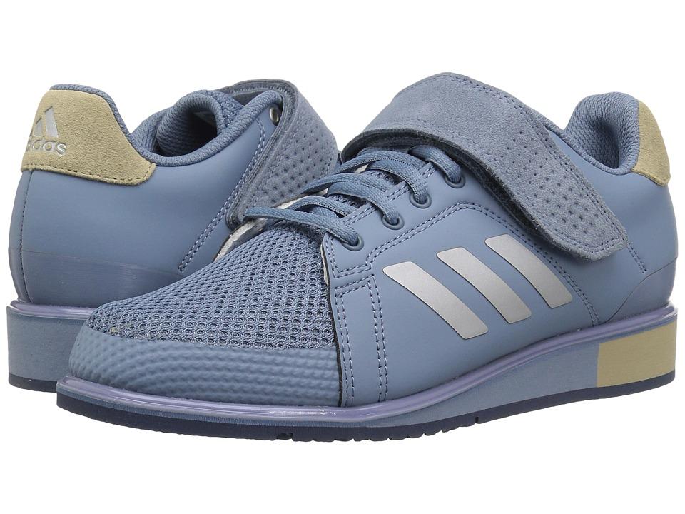 Adidas Power Perfetto Iii (Raw Grigio Oro / Argento Metallizzato / Oro Grigio Grezzo) Uomini 440450