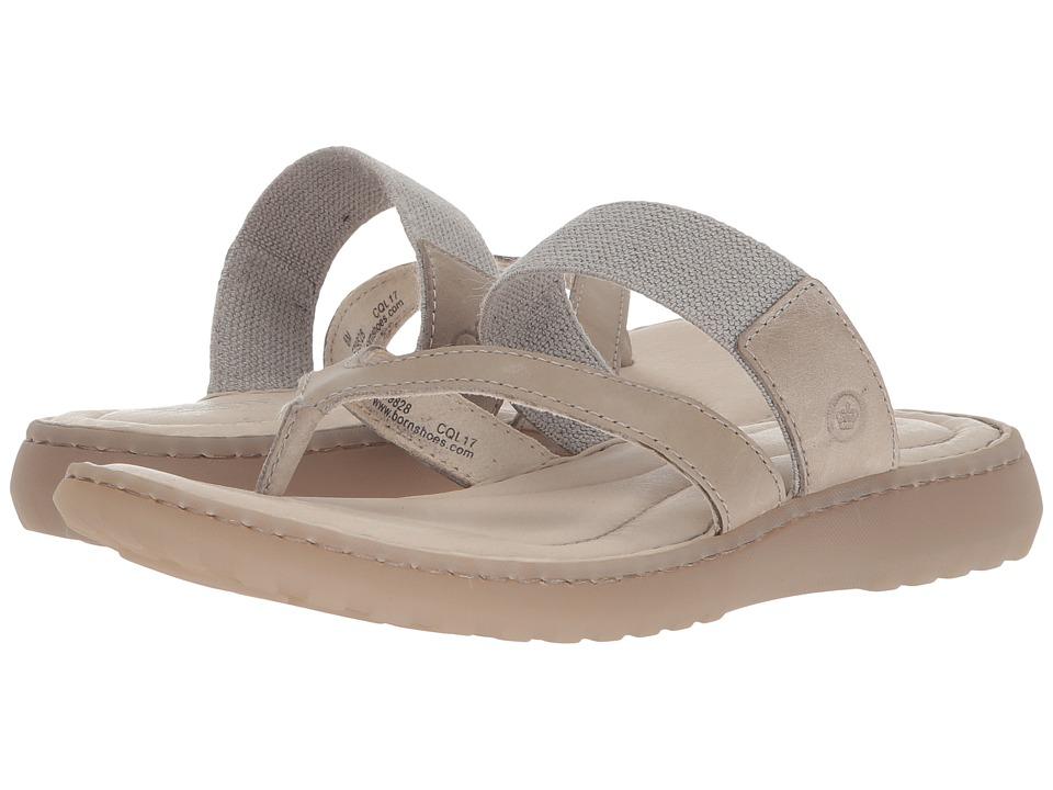 Born - Nevis (Shell Full Grain Leather) Womens Sandals