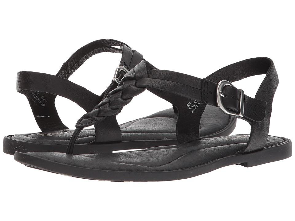 Born - Lake (Black Full Grain Leather) Womens Shoes