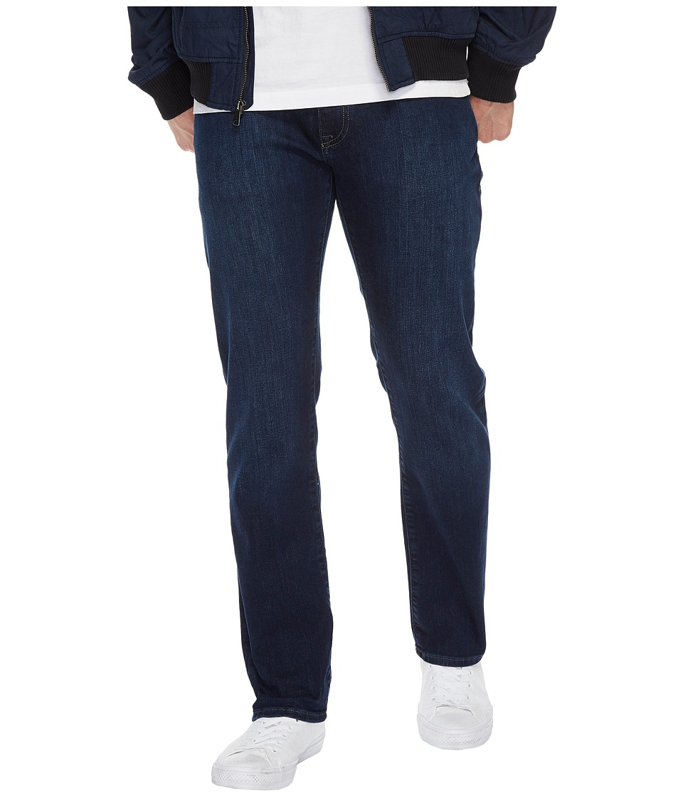 Mavi Jeans Zach Regular Rise Straight Leg in Deep Clean Comfort (Deep Clean Comfort) Men