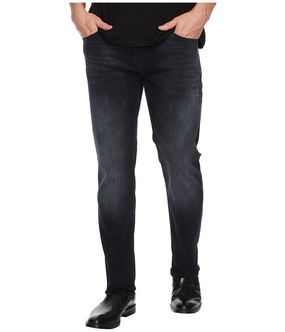 Mavi Jeans Marcus Regular Rise Slim Straight in Ink Brushed Williamsburg (Ink Brushed Williamsburg) Men