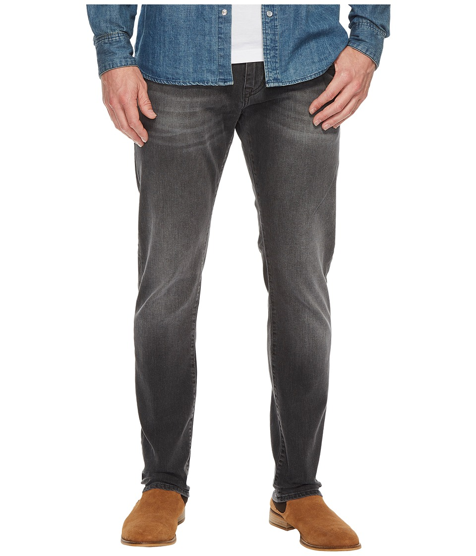 Mavi Jeans Jake Regular Rise Slim in Grey Distressed Williamsburg (Grey Distressed Williamsburg) Men