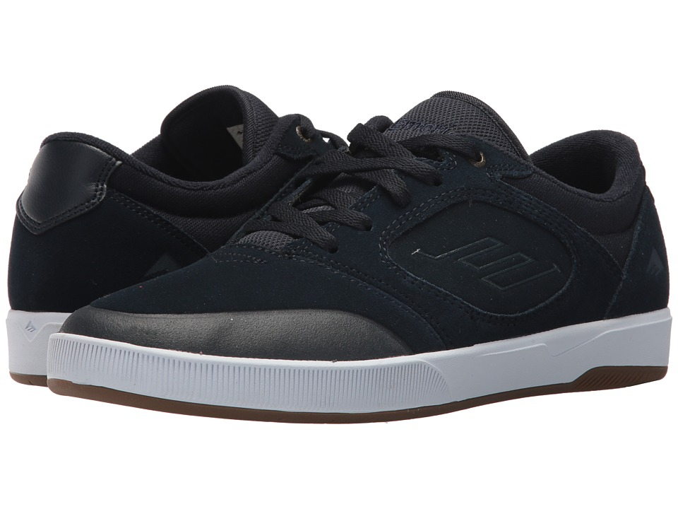 Emerica Dissent (Navy/White) Men's Skate Shoes