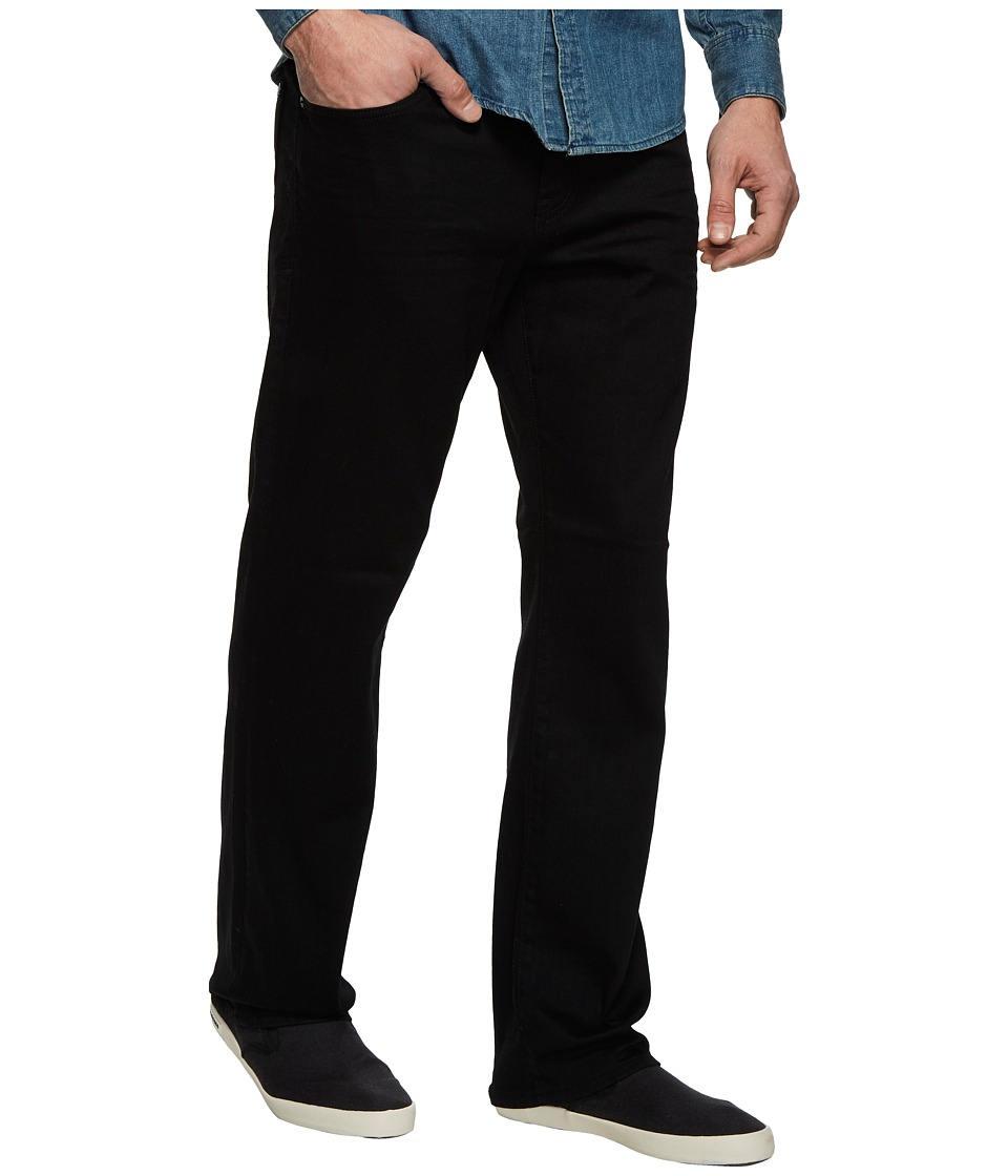 Mavi Jeans Matt Relaxed Straight Leg in Black Brushed Williamsburg (Black Brushed Williamsburg) Men