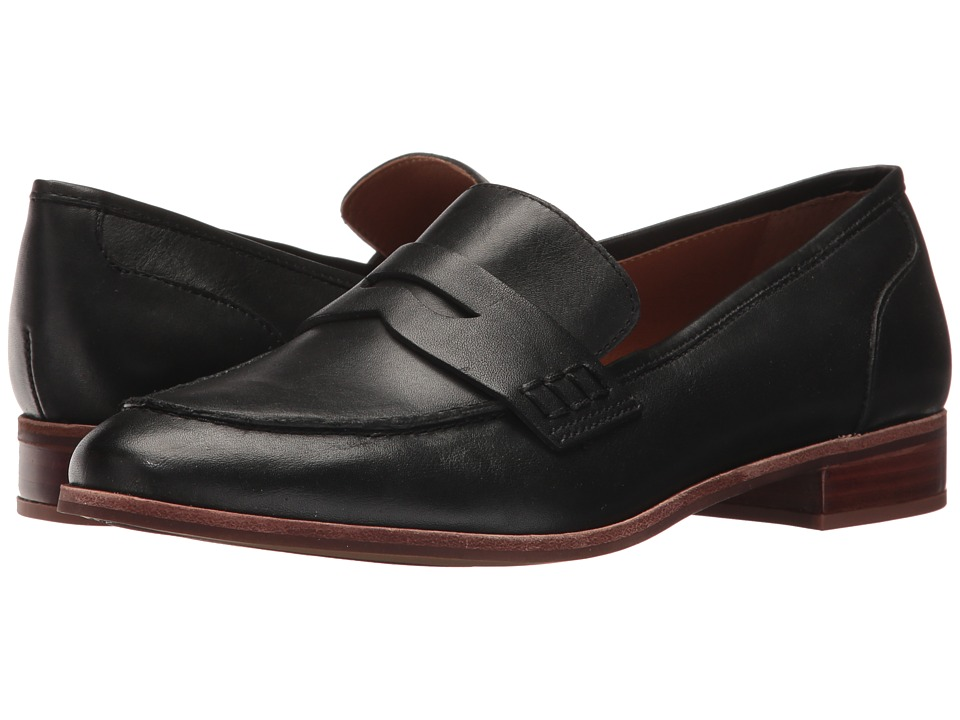 Franco Sarto Jolette by SARTO (Black Leather) Slip-On Shoes