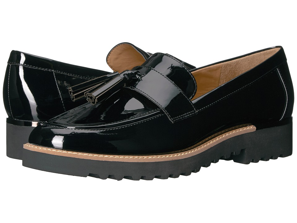 Franco Sarto Carolynn (Black Patent) Women's Shoes