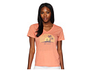 Life is Good Sunset Chill Cool Vee Tee