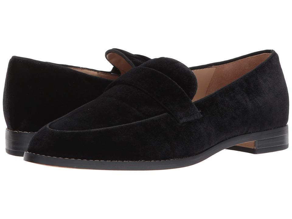 Franco Sarto - Hudley (Black Velvet) Womens Shoes