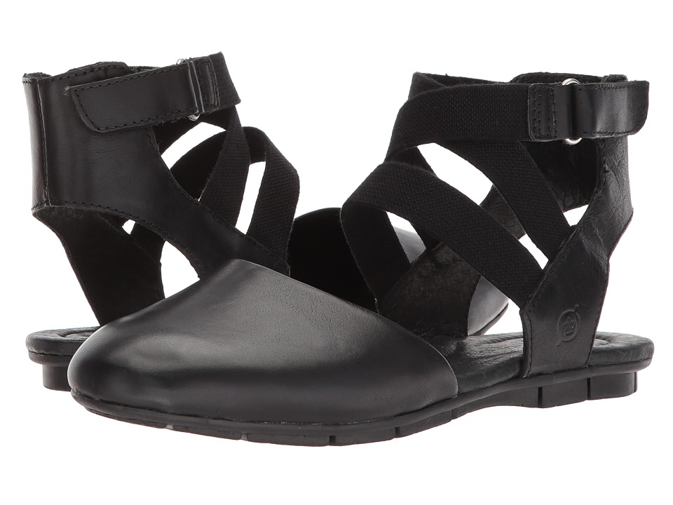 Born Breck (Black Full Grain Leather) Women