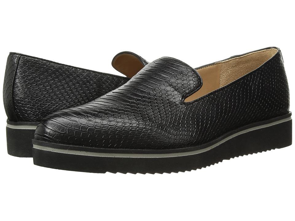 Franco Sarto - Fabrina (Black Snake Print Leather) Womens Shoes