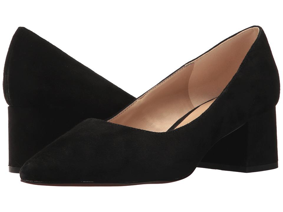 Franco Sarto - Callan (Black Suede) Womens Shoes