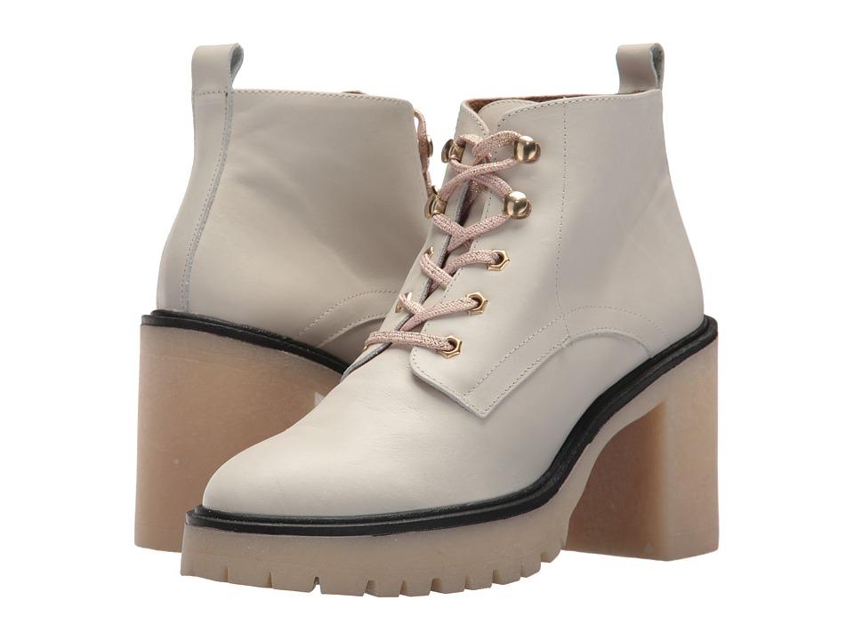 Free People Sydney Hiker Boot (White) Women