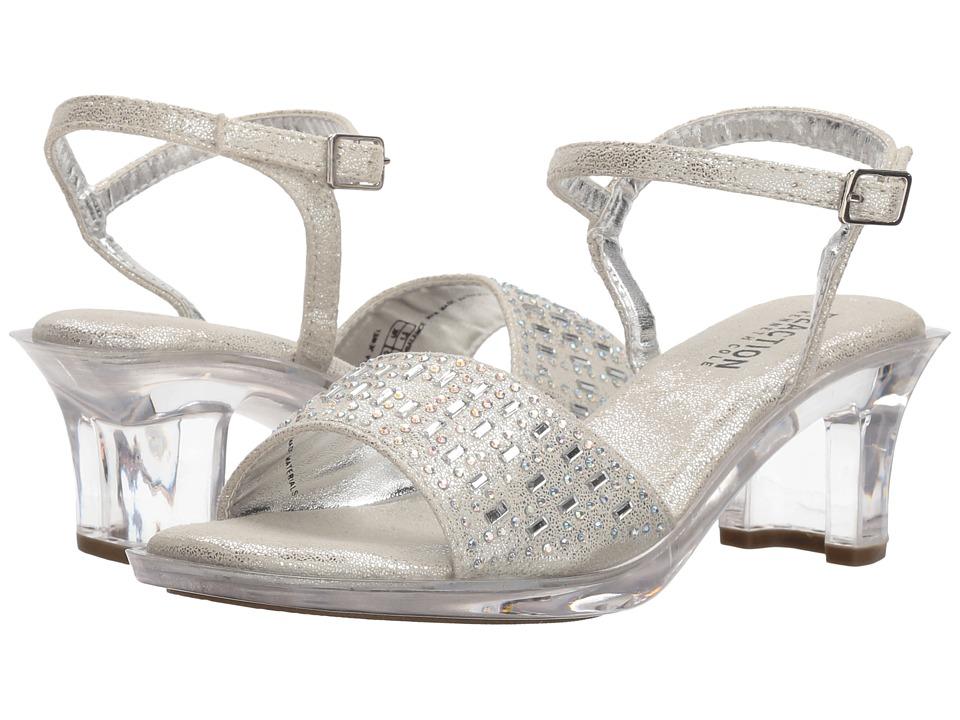 Kenneth Cole Reaction Kids - Cind-r-ella Jewel (Little Kid/Big Kid) (Silver) Girls Shoes