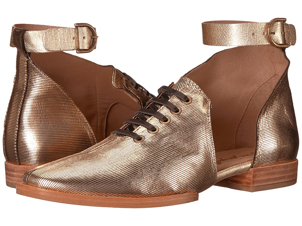 Free People Lucca Oxford (Gold) Women