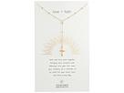Dogeared Love + Faith, Cross Rosary Necklace
