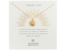 Dogeared Radiant Love, Crystal Disc Necklace