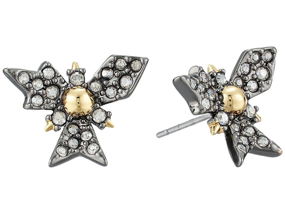 Alexis Bittar - Crystal Encrusted Snowflake Post Earring