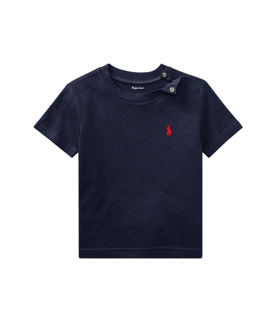 Ralph Lauren Baby - Cotton Jersey Crew Neck T
