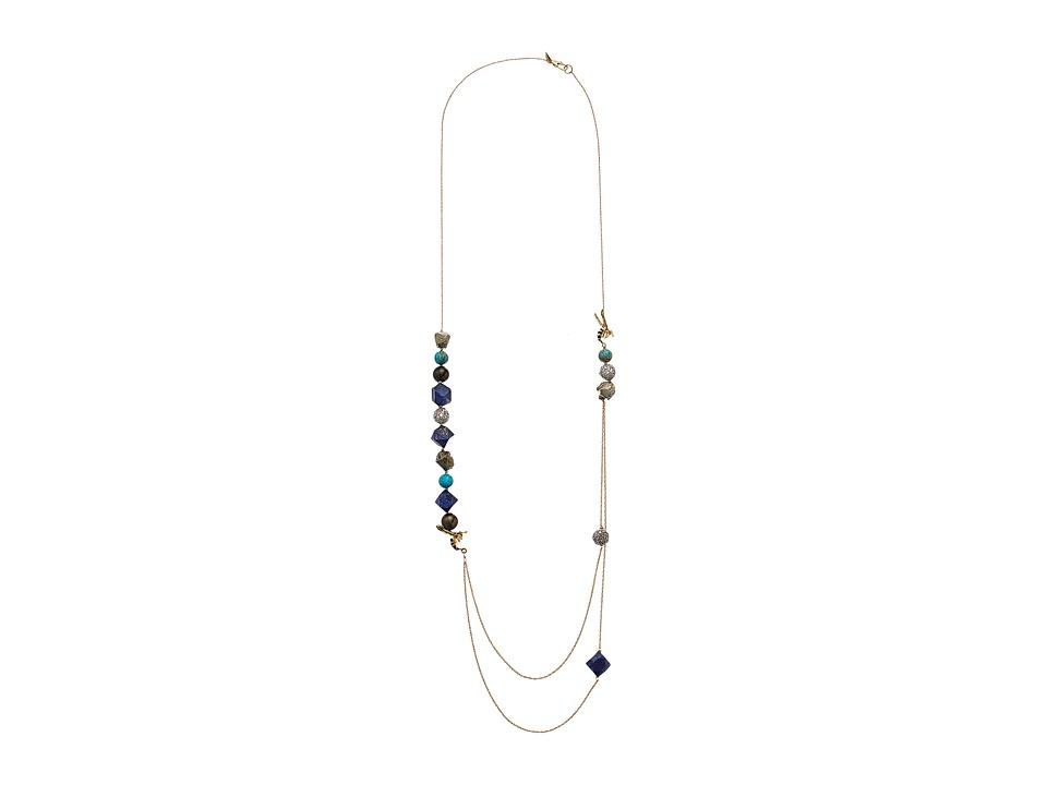 Alexis Bittar - Enameled Hornet Multi-Strand Necklace (10K Gold) Necklace