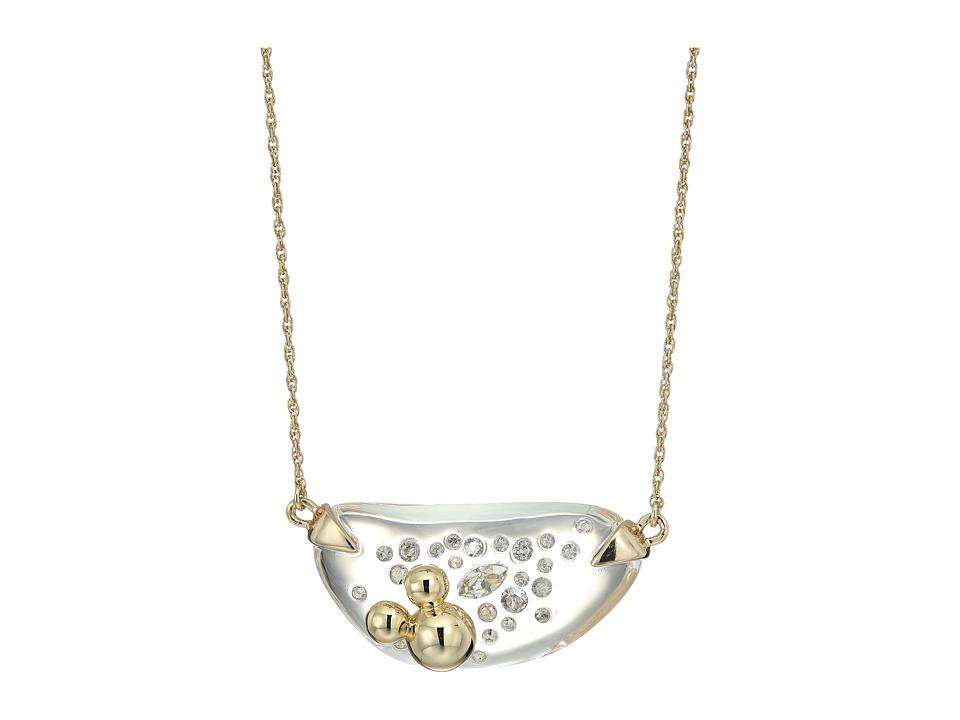 Alexis Bittar - Diamond Dust Lucite Pendant Necklace