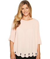 Ivanka Trump - Georgette Pleated Blouse