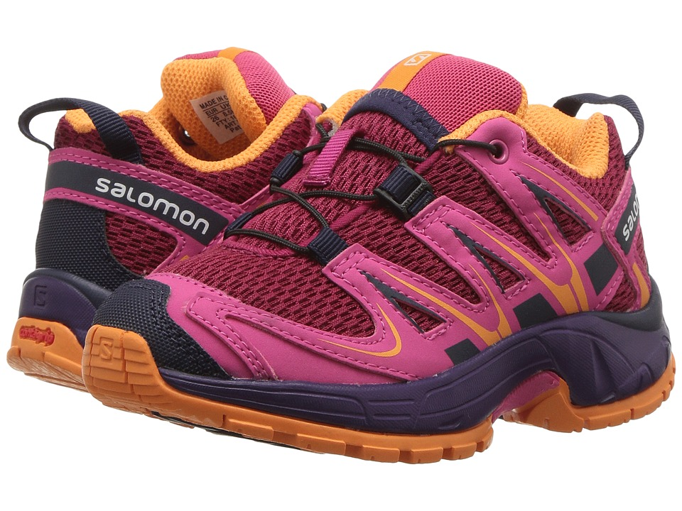 Salomon Kids - Xa Pro 3D (Toddler/Little Kid) (Scarlet Ibis/Fiery Red/Night Sky) Boys Shoes