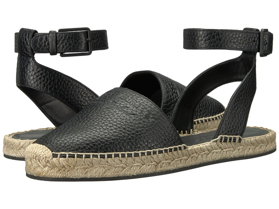 Burberry - Abbin Logo (Black) Women's Sandals