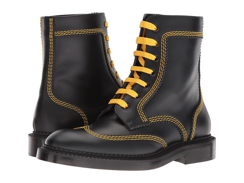 Burberry Bert L (Black) Women's Lace-up Boots