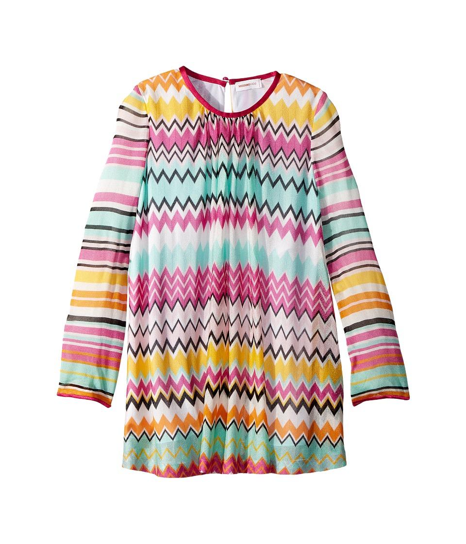 Missoni Kids - Knit Zigzag Dress (Toddler/Little Kids) (Multi) Girls Dress