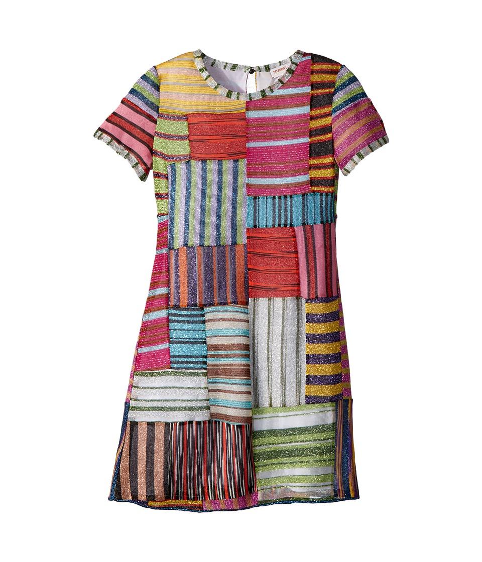 Missoni Kids - Mini Miss Patchwork Dress (Big Kids) (Multi) Girls Dress