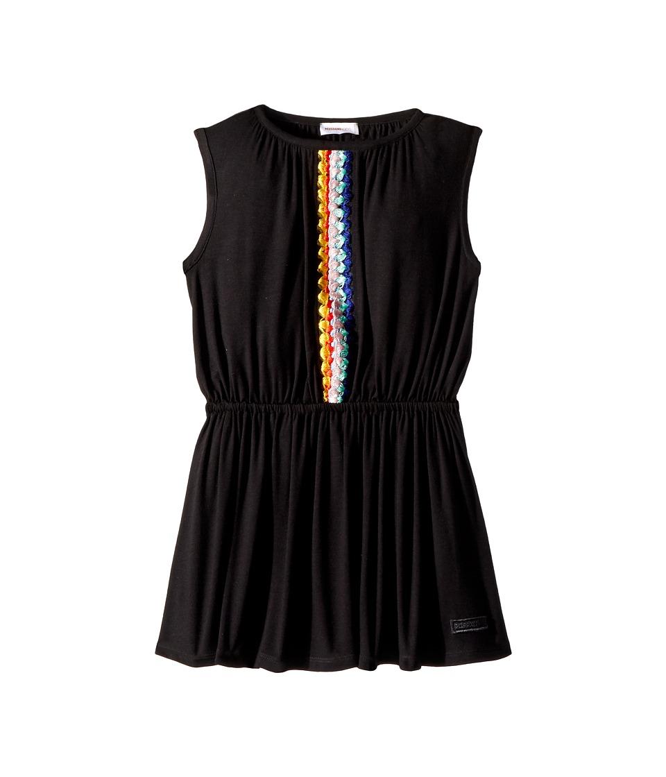 Missoni Kids - Jersey Dress (Toddler/Little Kids) (Black) Girls Dress